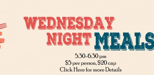 Wednesday Night Meals