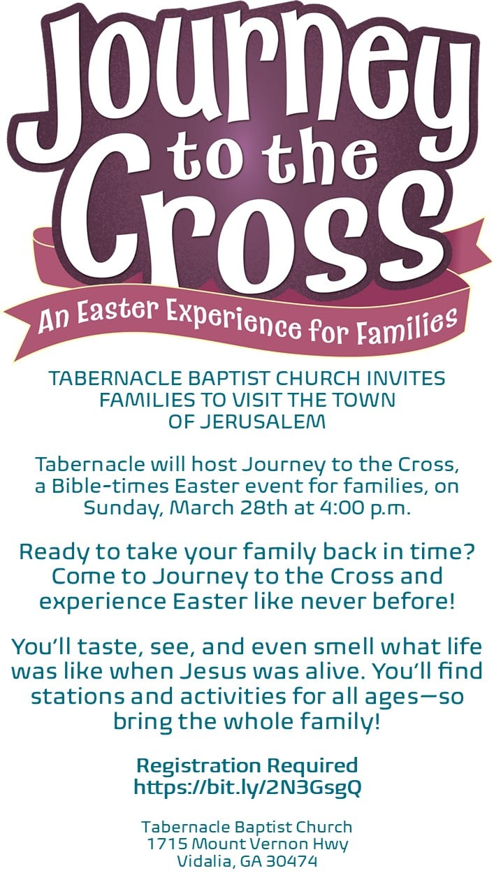 Journey to The Cross Family Experience